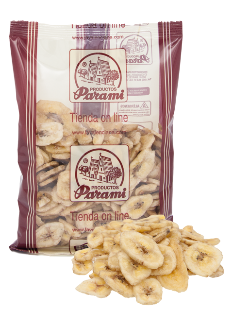 Bananas Chips 300 grs.